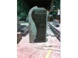 Polished And Flamed Headstone With