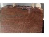Natural Polished Multicolor Red Granite