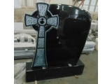 Carved Cross Gravestone with Antique