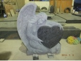 Carved And Sandblasted Angel Heart