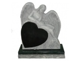Angel Carving With Heart Popular